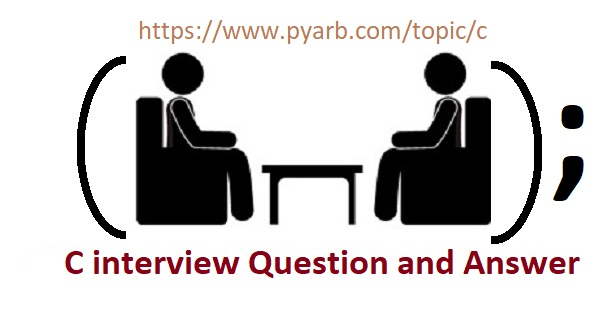 C-Interview-Question-and-Answer