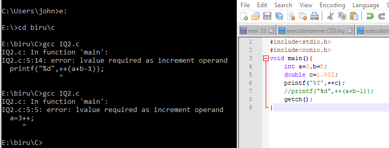Increment Operator