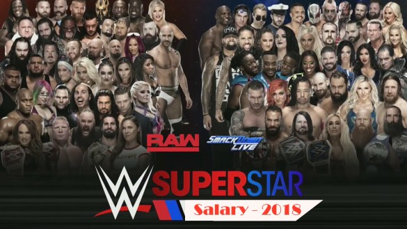 WWE Superstar Salary 2018