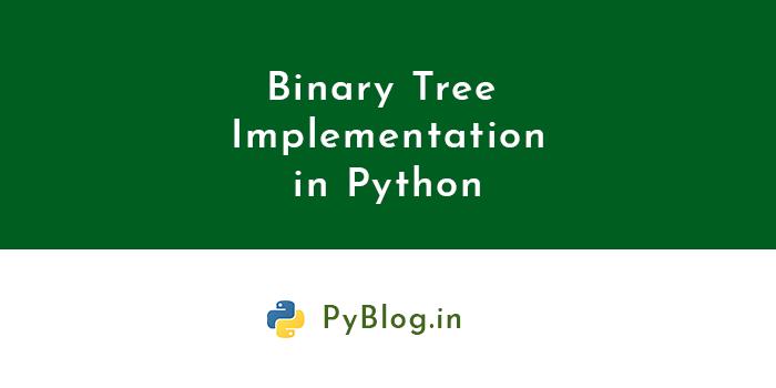 binary tree python