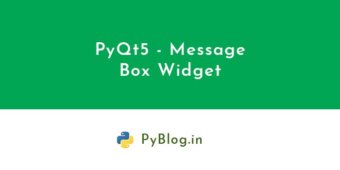 pyqt5-message-box-widget