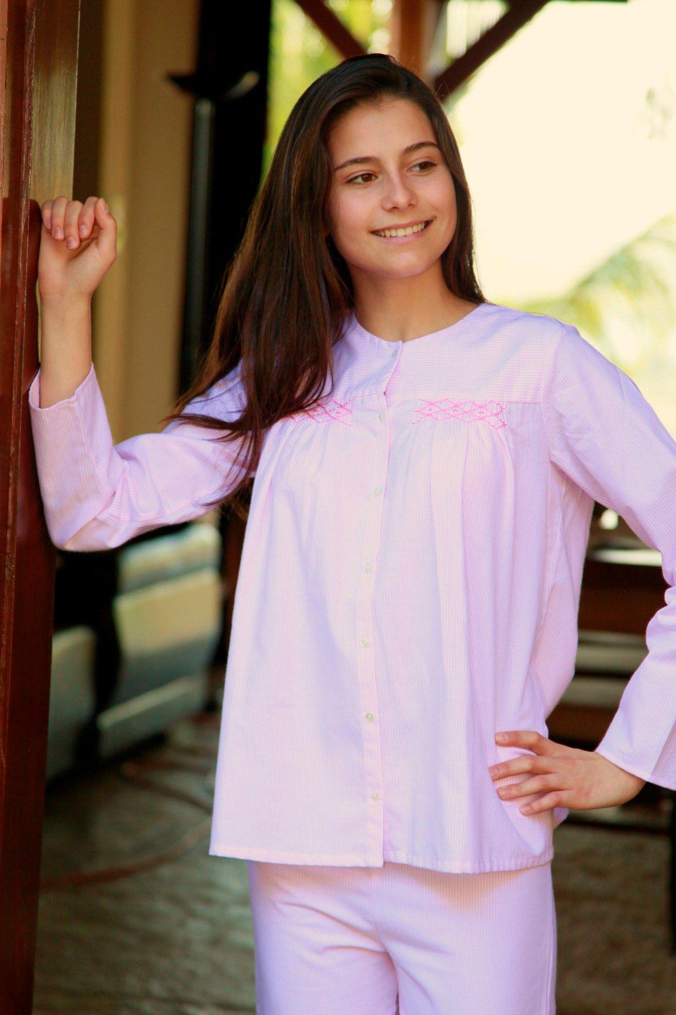 Pyjama Fille Bianca ray rose  Lorangerie