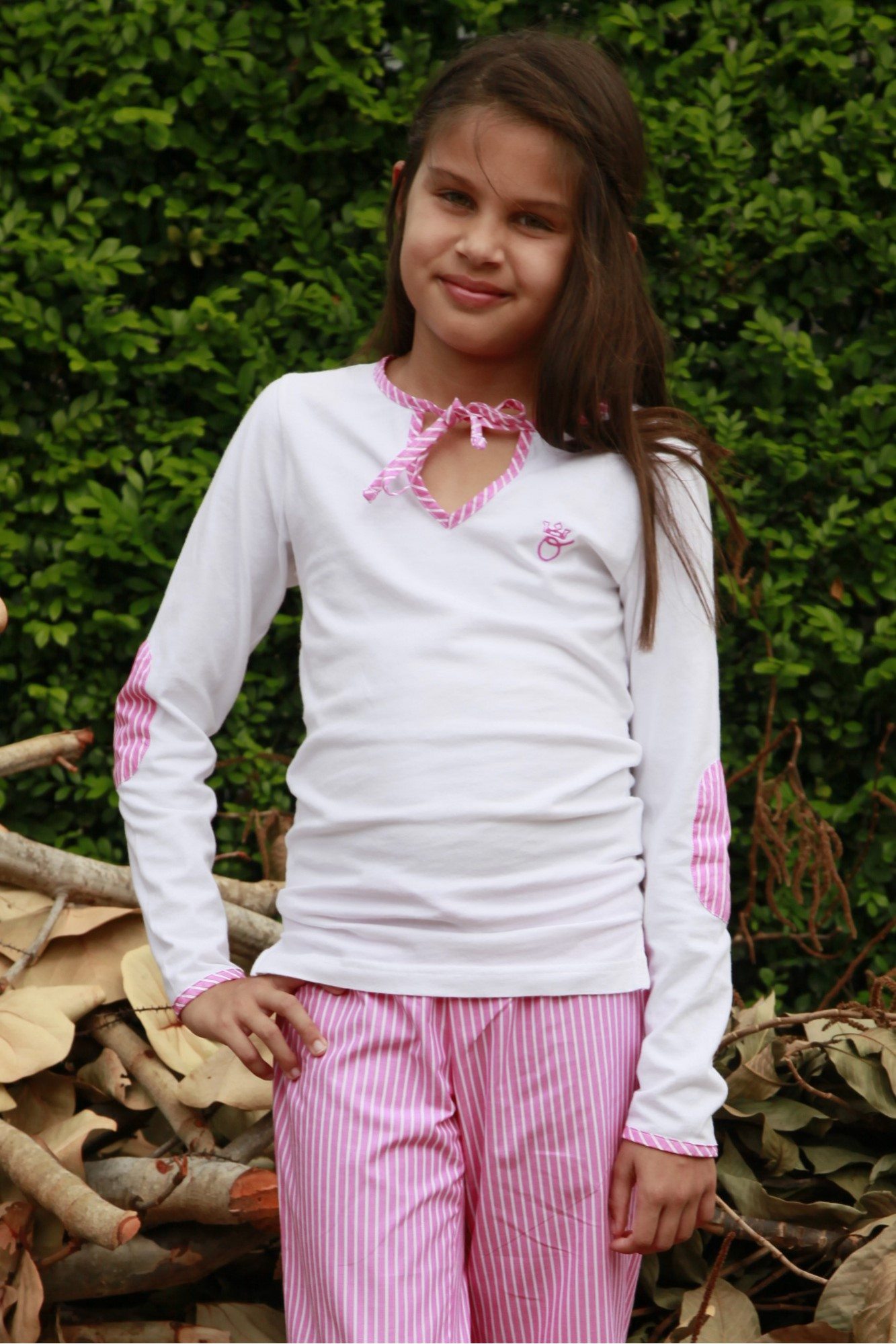 Pyjama Fille Ray Rose Victorine  Lorangerie