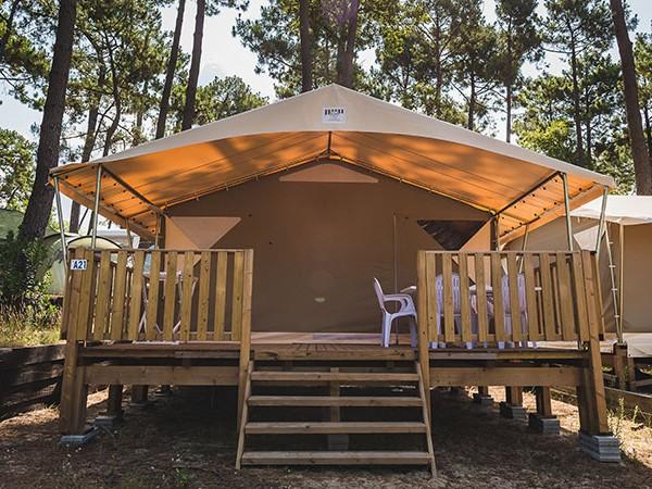 Louer Une Tente Au Camping Du Pyla Location Camping Dune