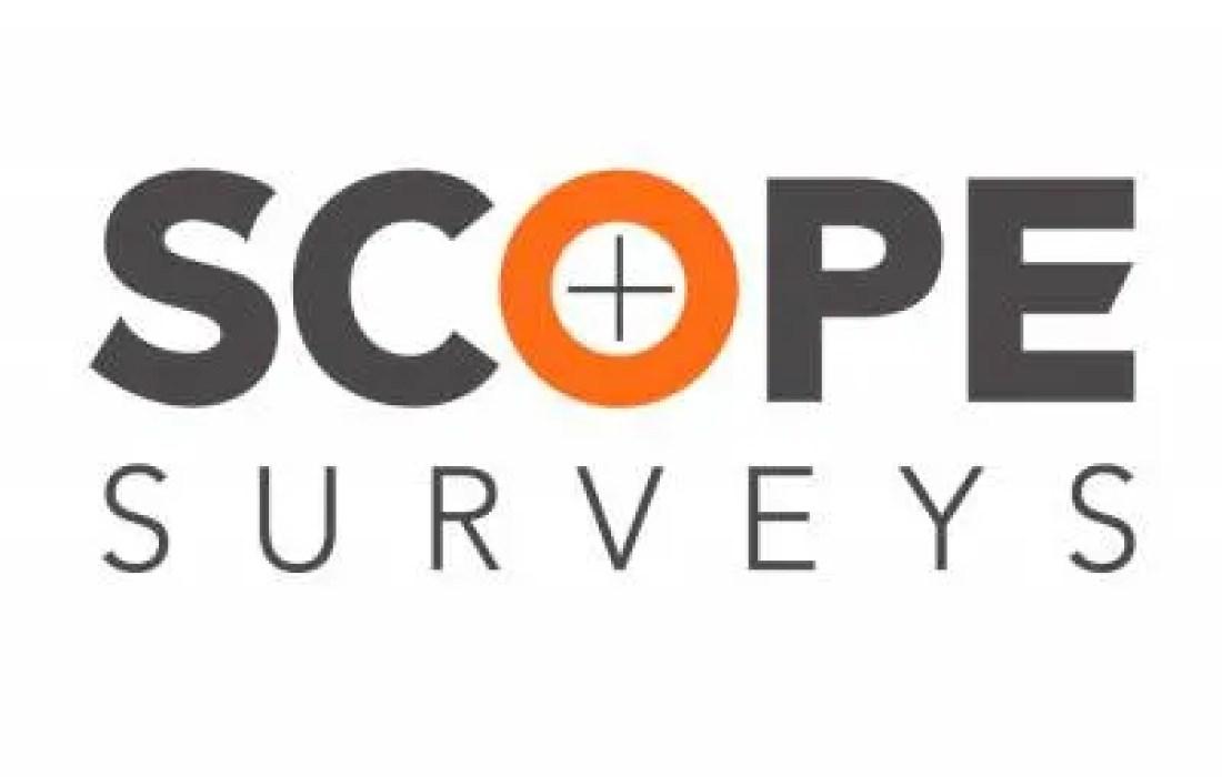 Land Surveying Company Scope Surveys Logo