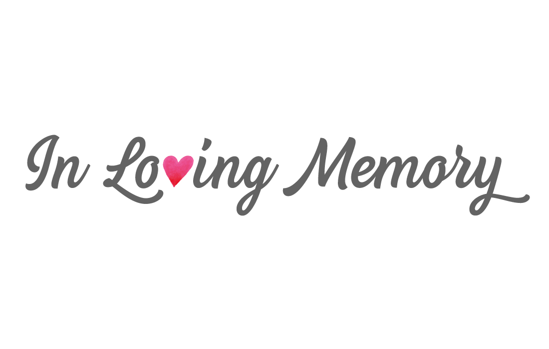 In Loving Memory Logo – Pylon Design, London