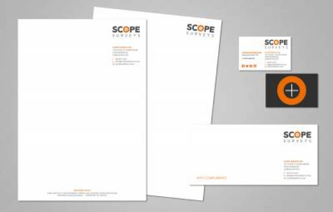Scope Surveys Stationery