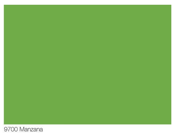 Color Verde Manzana En Pintura