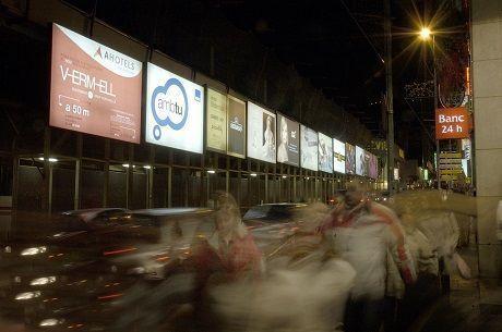 Publicidad Exterior en la calle