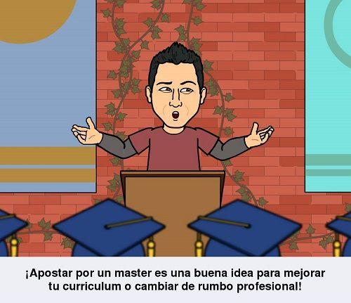Master en una escuela de negocios
