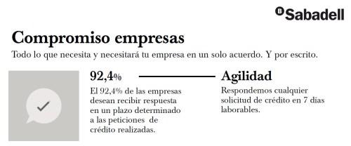 compromiso empresas agilidad Sabadell