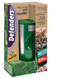 cat repeller for repelling cats using high frequency sound