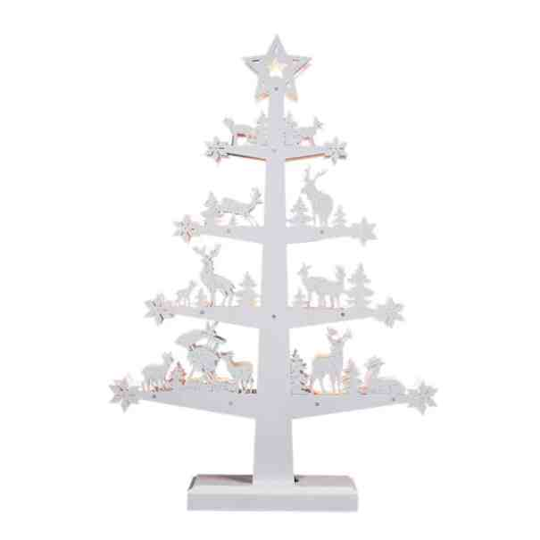 mini white christmas tree - Mini White Christmas Tree