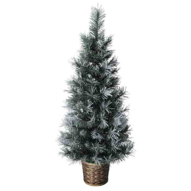 white 3ft christmas tree