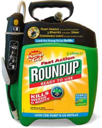 roundup fast action pump n go weed killer