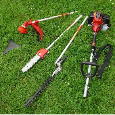 selections 4 in 1 long reach hedge trimmer