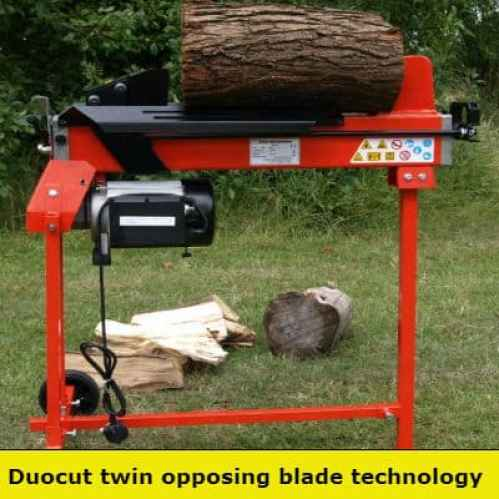 Forest master fm10 duocut log splitter