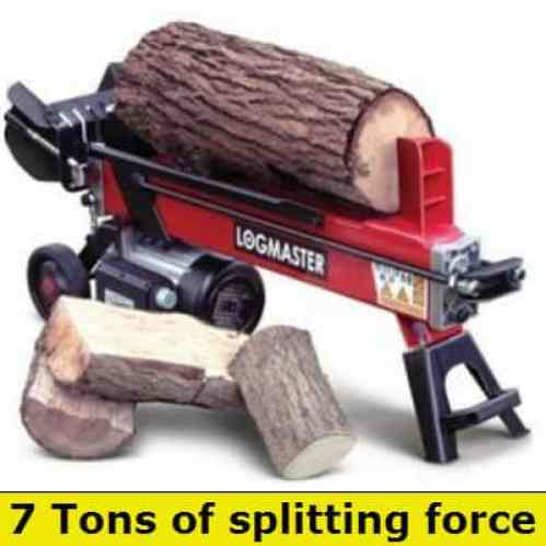 Log Master 7 ton log splitter