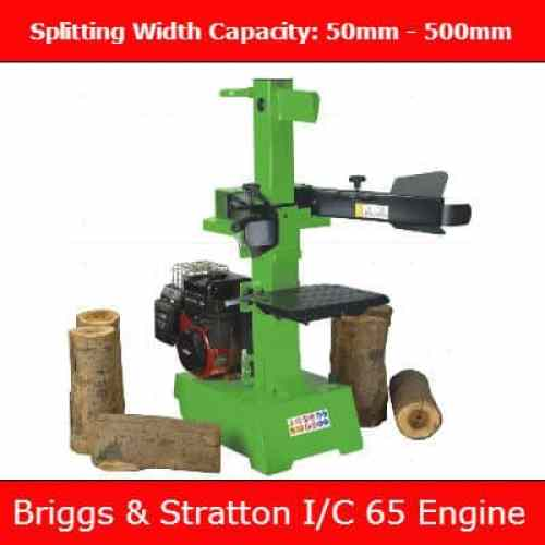 The Handy petrol 7 ton log splitter review