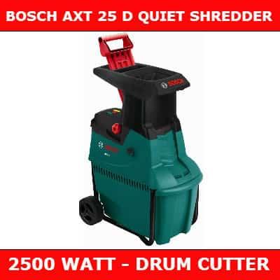 Bosch AXT 25d shredder review