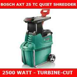 Bosch AXT 25tc shredder REVIEW