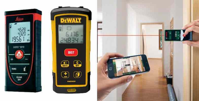Best Laser Tape measure – 8 Top picks & Reviews For 2019