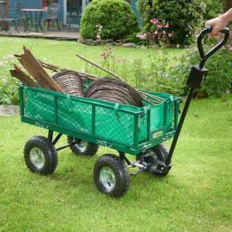 Heavy duty garden trolley
