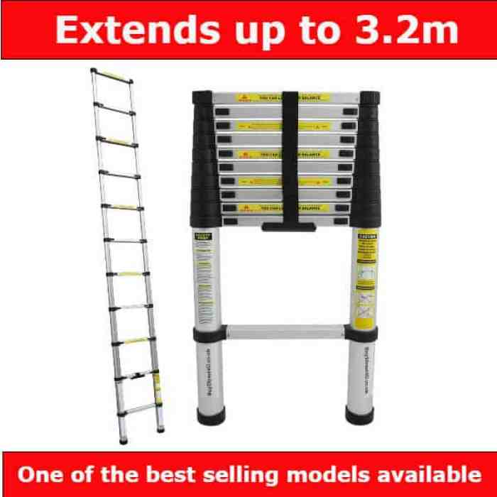 Charles Bentley 3.2m Telescopic ladder review