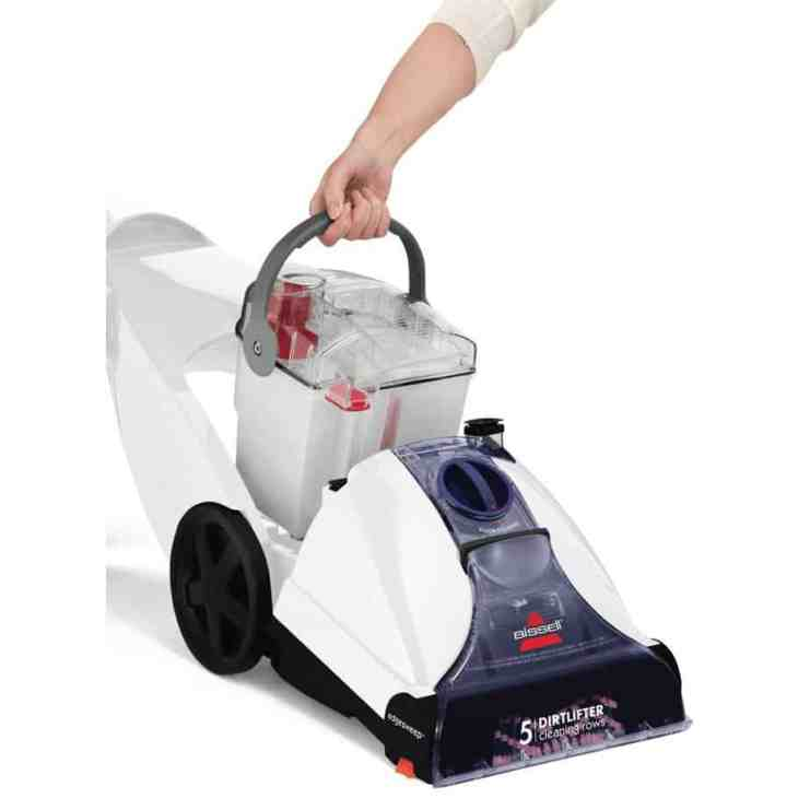 BISSELL Cleanview Power Brush Carpet Cleaner water tank