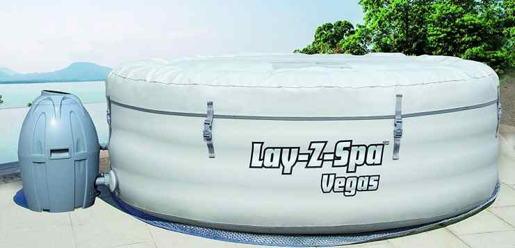 Lay-Z-Spa Vegas Inflatable Portable Hot Tub review