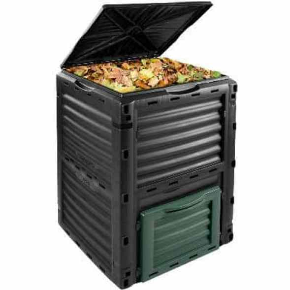 Best Budget Compost Bin - 300 Litre Garden Composter Bin Waste Box Recycling Eco Compost Review