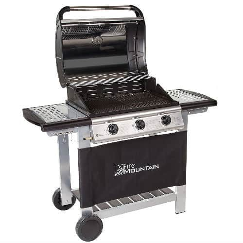 Fire Mountain Everest 3 Burner Gas Barbecue review