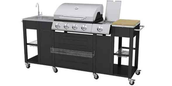 Outdoor Kitchen Barbecue Montana 4 Burners review