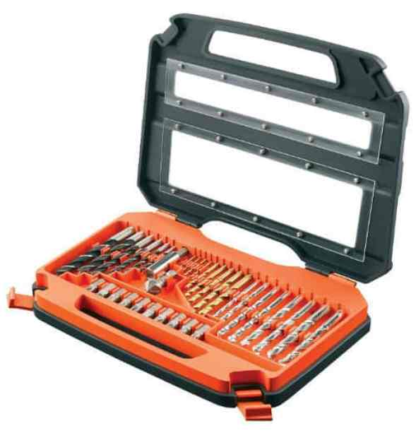 BLACK+DECKER Accessory Set in Carry Case - 35 Piece Review