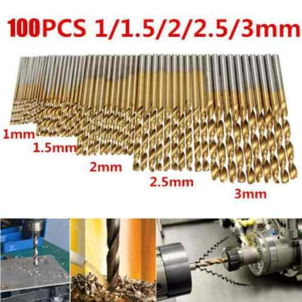 Mohoo 50PCS HSS Shank Drill Bit Set Review