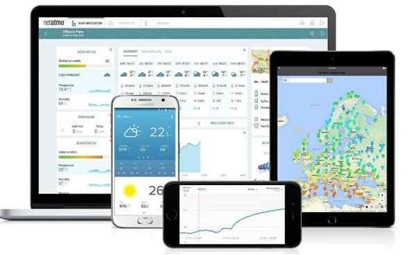Netatmo Weather Station for screen display