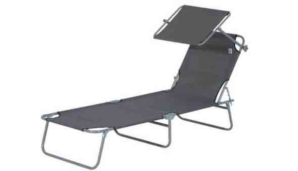 Outsunny Sun Bed Chairs Garden Lounger Review