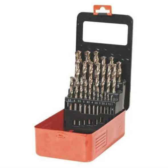 Sealey AK4702 Metric Cobalt Drill Bit Set 25 Pieces