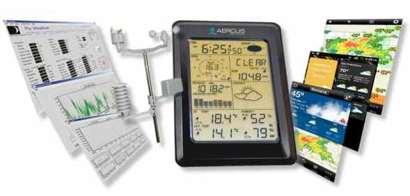Weather Station Wireless WS1093 with Touch Screen & Internet Upload review