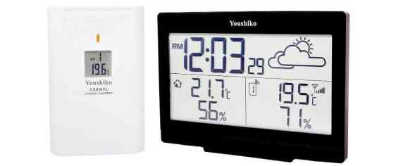 Youshiko Wireless Weather Station with Radio Controlled Clock review