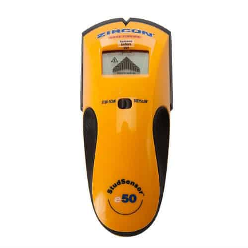 Zircon StudSensor e50 Electronic Stud Finder Review