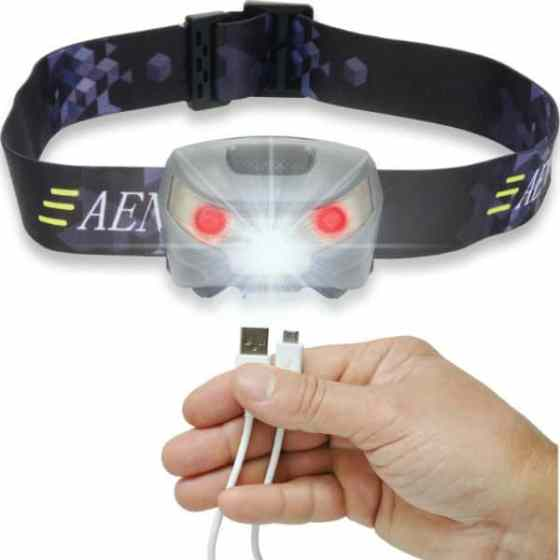 Aennon USB Rechargeable LED Head Torch Review