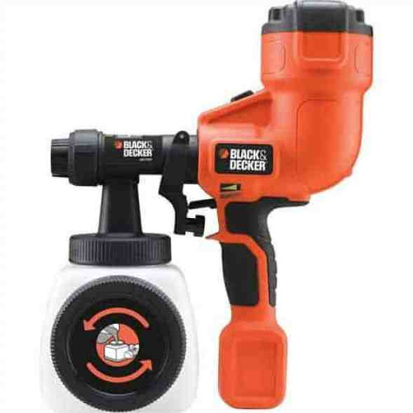 BLACK+DECKER HVLP Hand Held Paint Sprayer Review