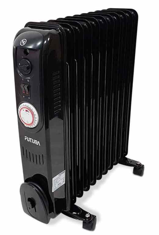 Futura 2.5KW Black Electric Oil Filled Radiator Review