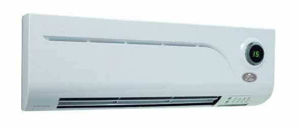 PTC Over Door Heater and Cold Air Fan For Conservatory