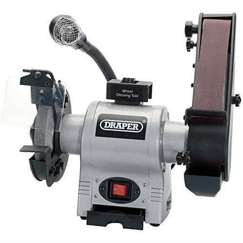 Draper 05096 Bench Grinder with Sanding Belt Review