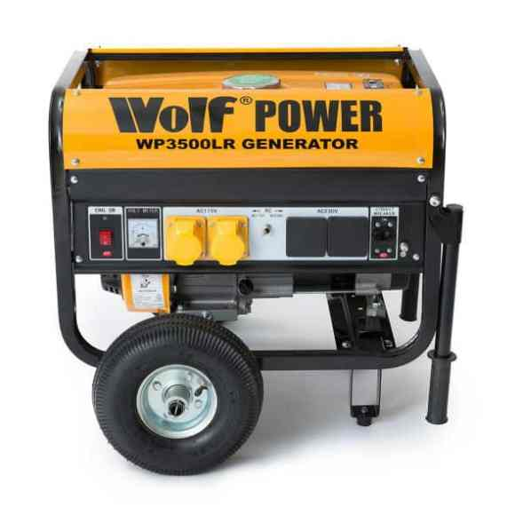 Wolf Power WP3500LR 6.5HP Petrol Powered Generator Review