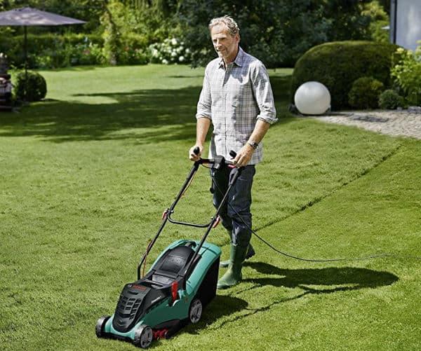 Bosch Rotak 40 Ergoflex Electric Rotary Lawn Mower Review