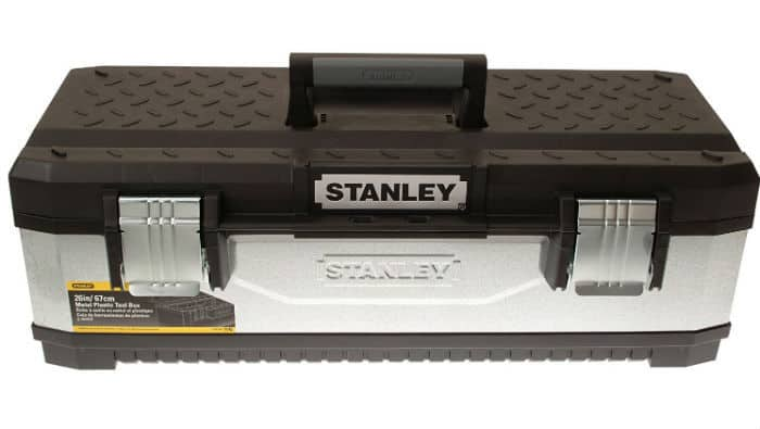 Stanley 195620 Galvanised Metal Toolbox 26-inch Review