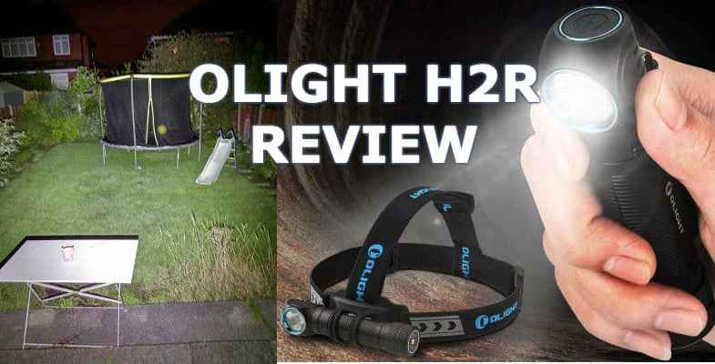 OLIGHT H2R NOVA LED Torch Review